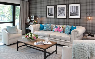 How to make a small living room feel large