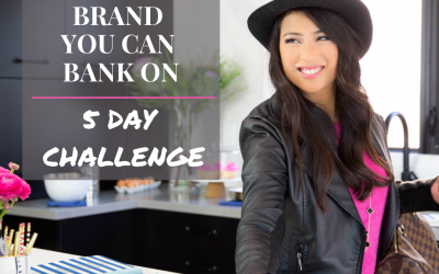CREATE A PERSONAL BRAND YOU CAN BANK ON!