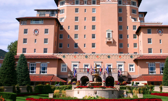 3 reasons to visit the Broadmoor. 1 reason sports loving husbands will love.