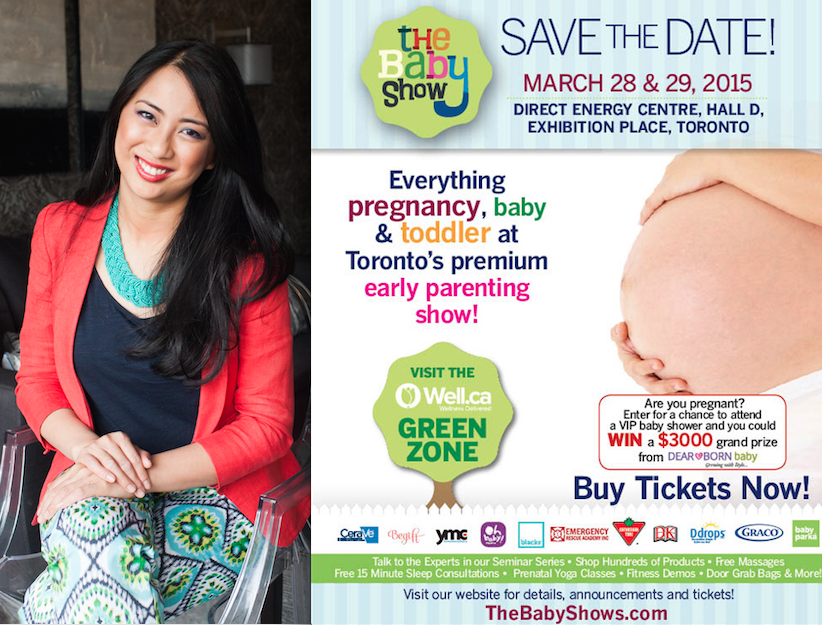 VISIT LISA AT THE BABY SHOW: MARCH 28-29, 2015