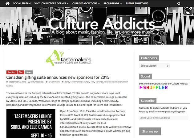 Culture Addicts