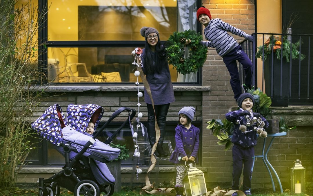 DECORATING FOR CHRISTMAS WITH KIDS OF ALL AGES FEATURING THE NEW BUGABOO DONKEY2